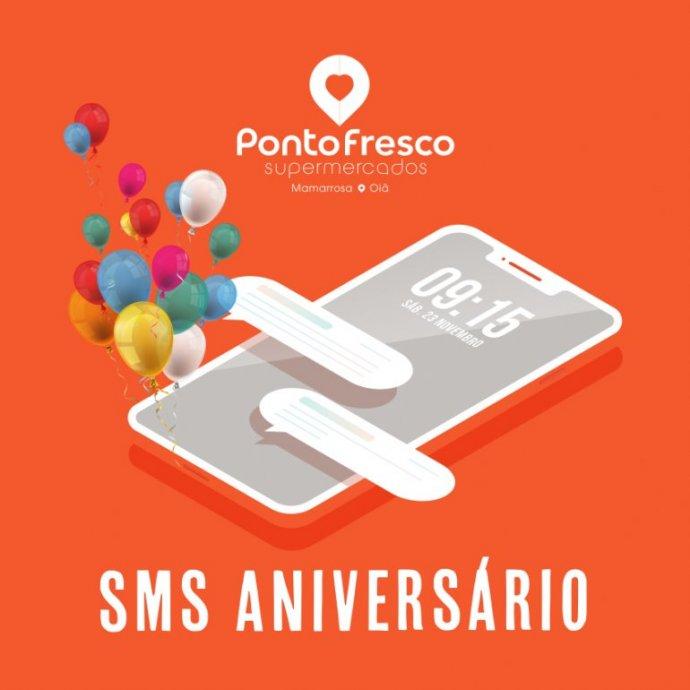 SMS Aniversário